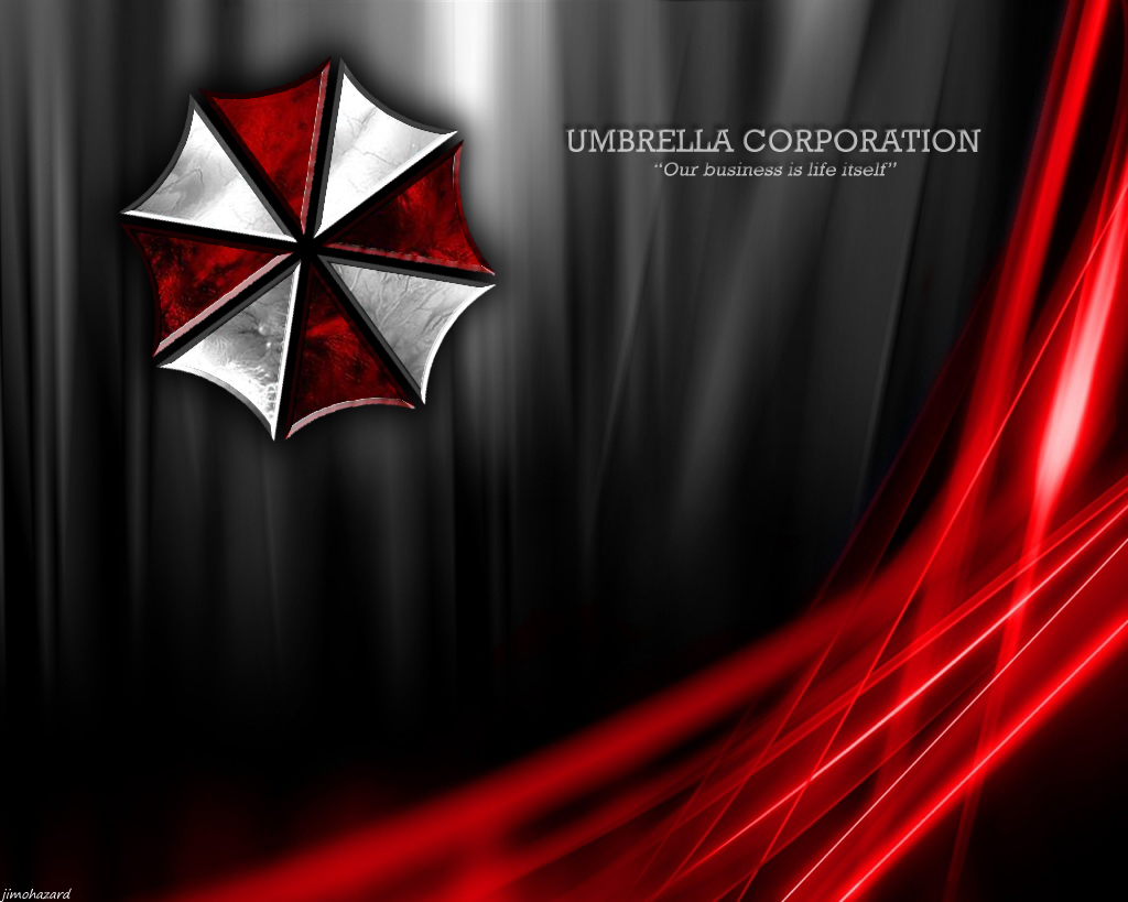 Where do we find the UMBRELLA CORPORATION LOGIN screensaver
