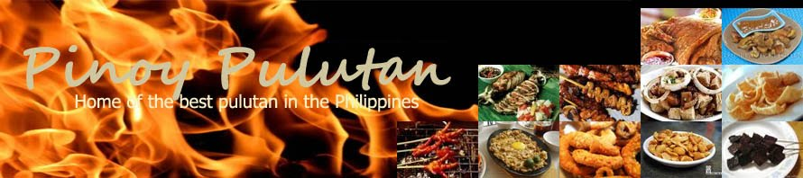 Pulutan Pinoy - Home of the best pulutan in the Philippines. Recipes and ingredients