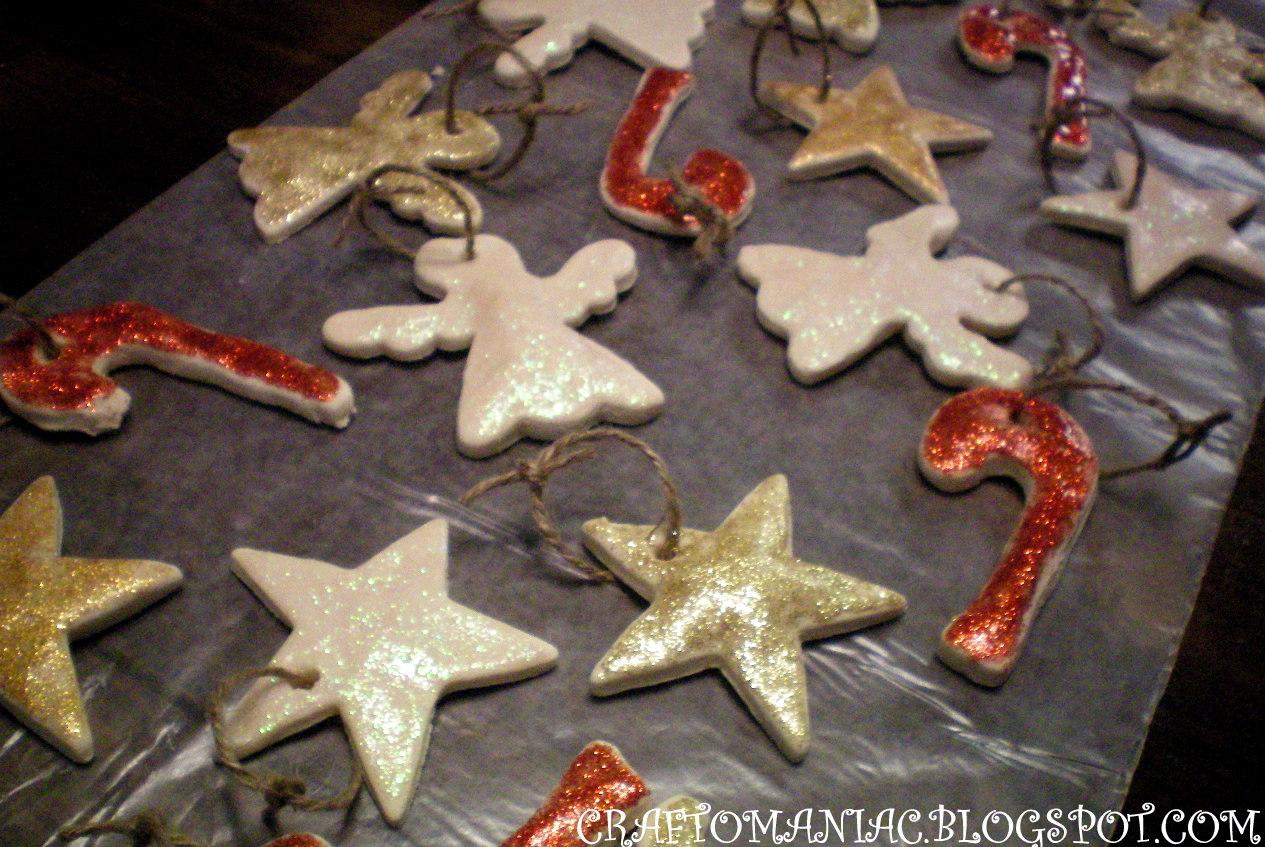 Baked Christmas Ornaments - Craft-O-Maniac