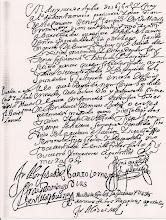 17.OCTUBRE.1616: SEGUNDA TOMA DE HABITO