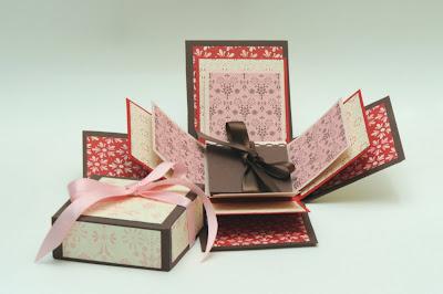 explosion box, sending love dsp, designer series paper, simply stars, demonstrator