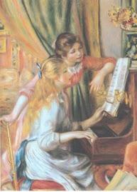 Raparigas ao Piano, de Renoir