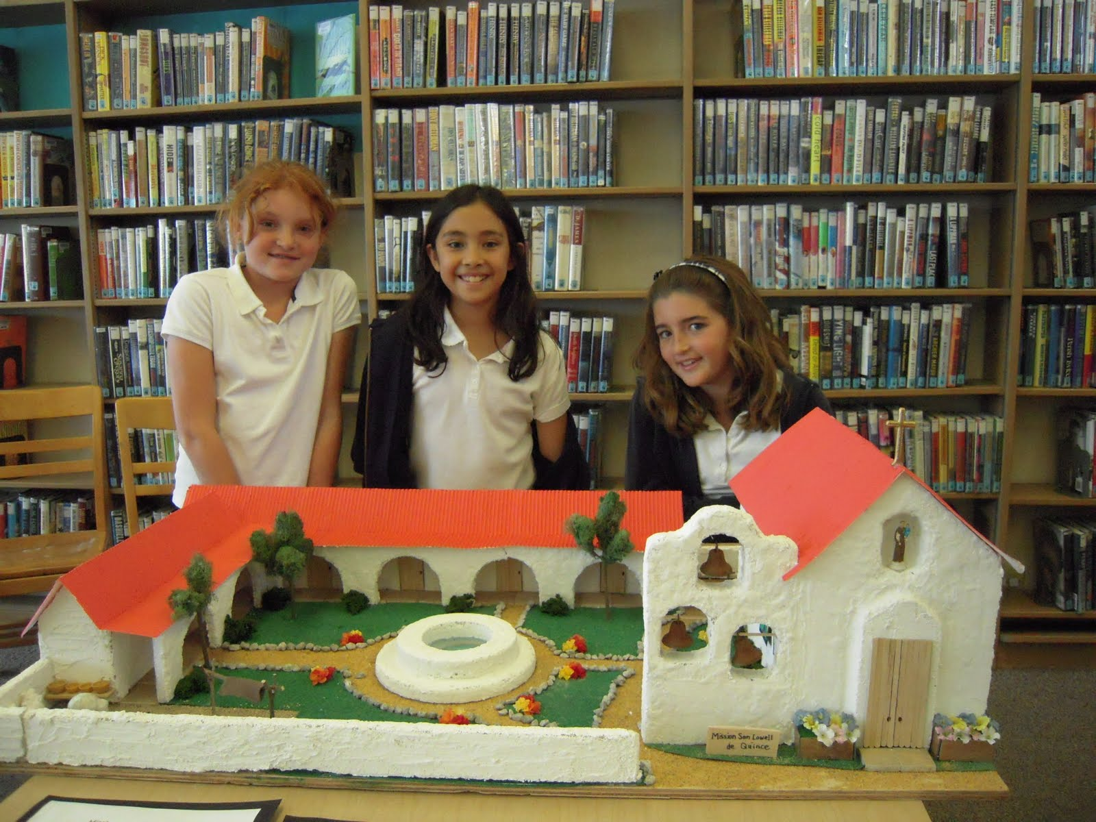 LBPL KIDS BLOG: California Mission on Display @ Bay Shore Library