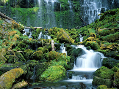 Proxy Water Falls Beautiful Photo