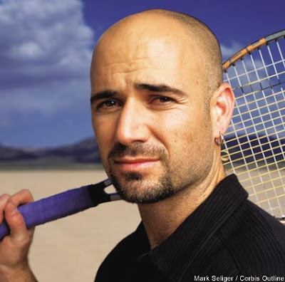 Andre Agassi Sexy Tennis Picture