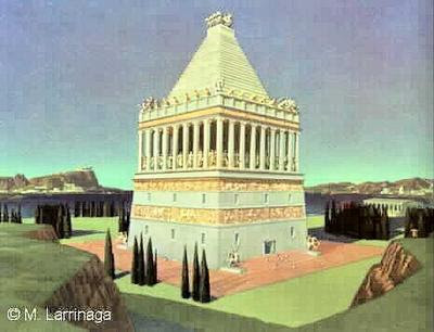 The Mausoleum at Halicarnassus Picture
