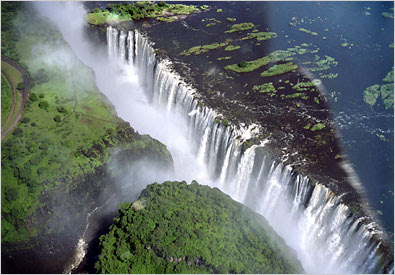 Victoria Falls Zimbabwe From Top Photo
