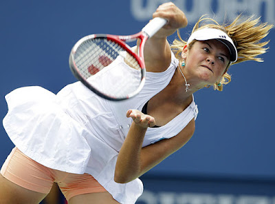 Aleksandra Wozniak Sexy 2009 Tennis Photo