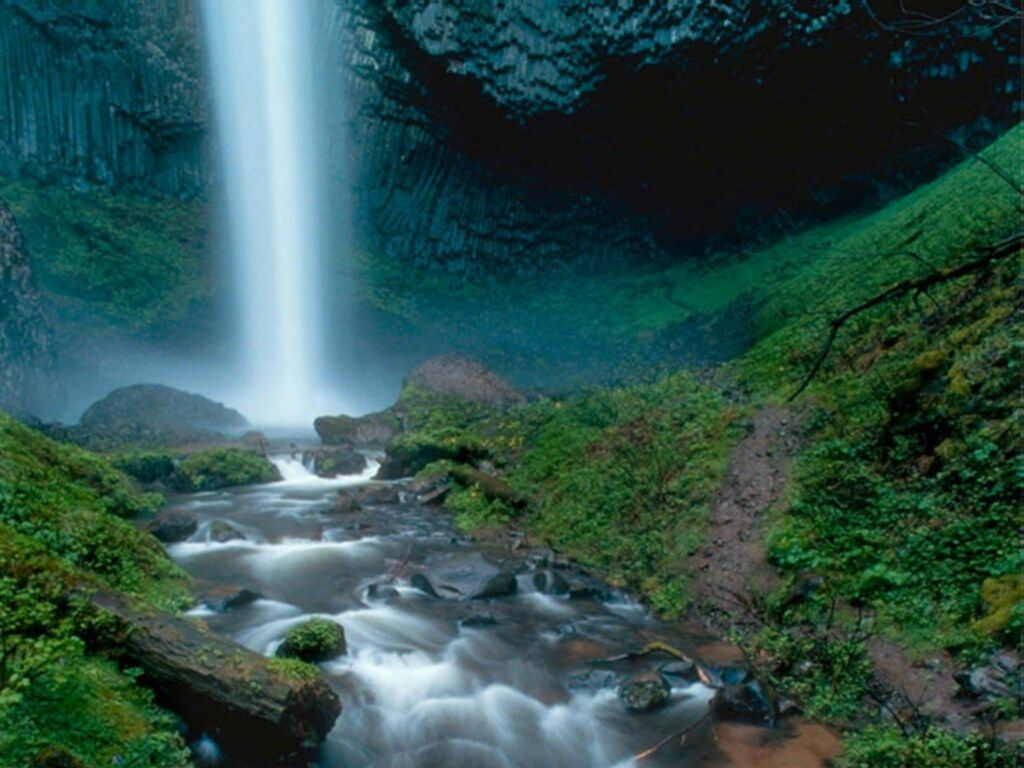 free waterfall wallpaper backgrounds - photo #36
