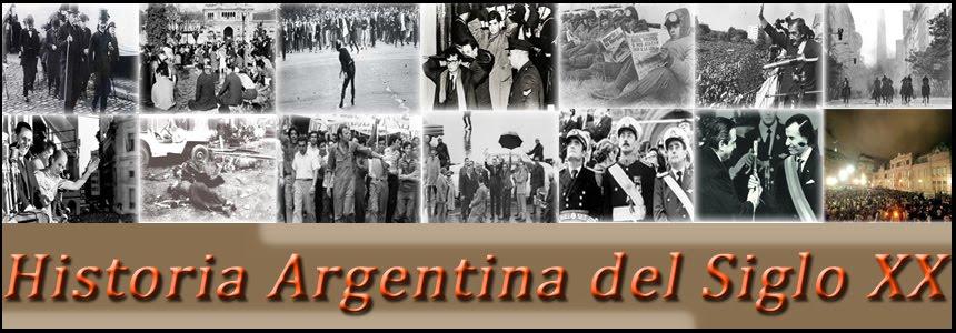 Historia Argentina Siglo XX