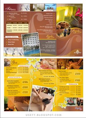contoh-contoh brosur universitas menarik
