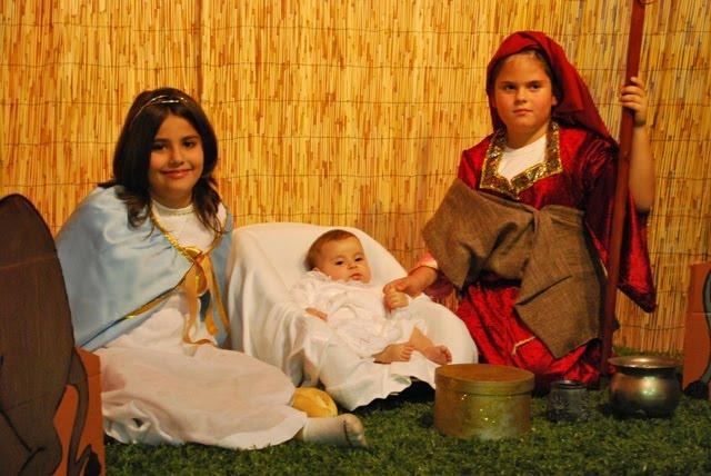 Belén Viviente Realizado por los niños y niñas de Catequesis de 3º y 4º