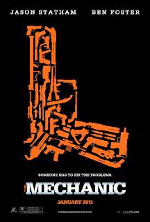 The Mechanic Movie QR Code