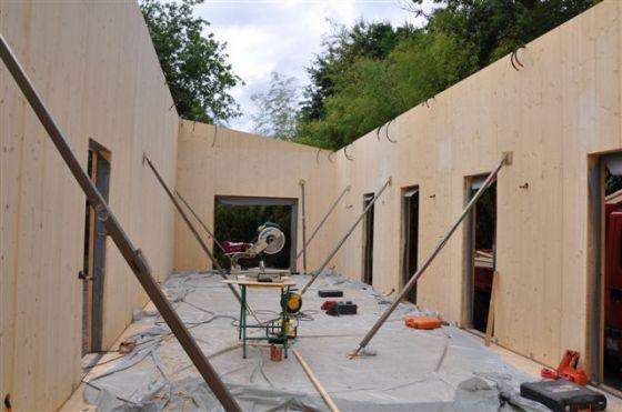 voici les photos des ralisations quils prsentent sur leur site - Autoconstruction Maison Bois Prix