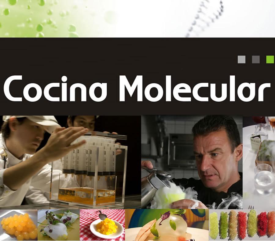 Comunicaci n sin limites gastronom a molecular for Caracteristicas de la cocina molecular