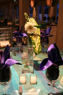 Bat Mitzvah centerpiece, flower shoe, Isha Foss Events ,Cavalier Golf, Virginia Beach
