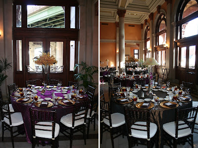 Wedding Reception Venues Richmond on By Isha Foss Events  Sneak Peek  Plum   Chocolate W  Yellow Wedding