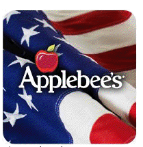 Applebees sometimes does deals for veterans