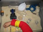 Rice Sensory Box