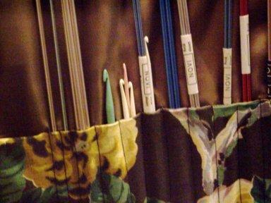 Eleanor Roosevelt's crochet hooks.