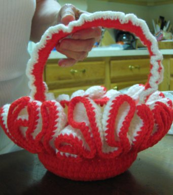 Auntie's proof she was once a crocheter.