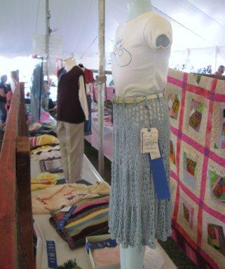 Part of the display at the 2008 Bridgewater Fair