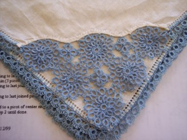 A beautiful sample of Tatting
