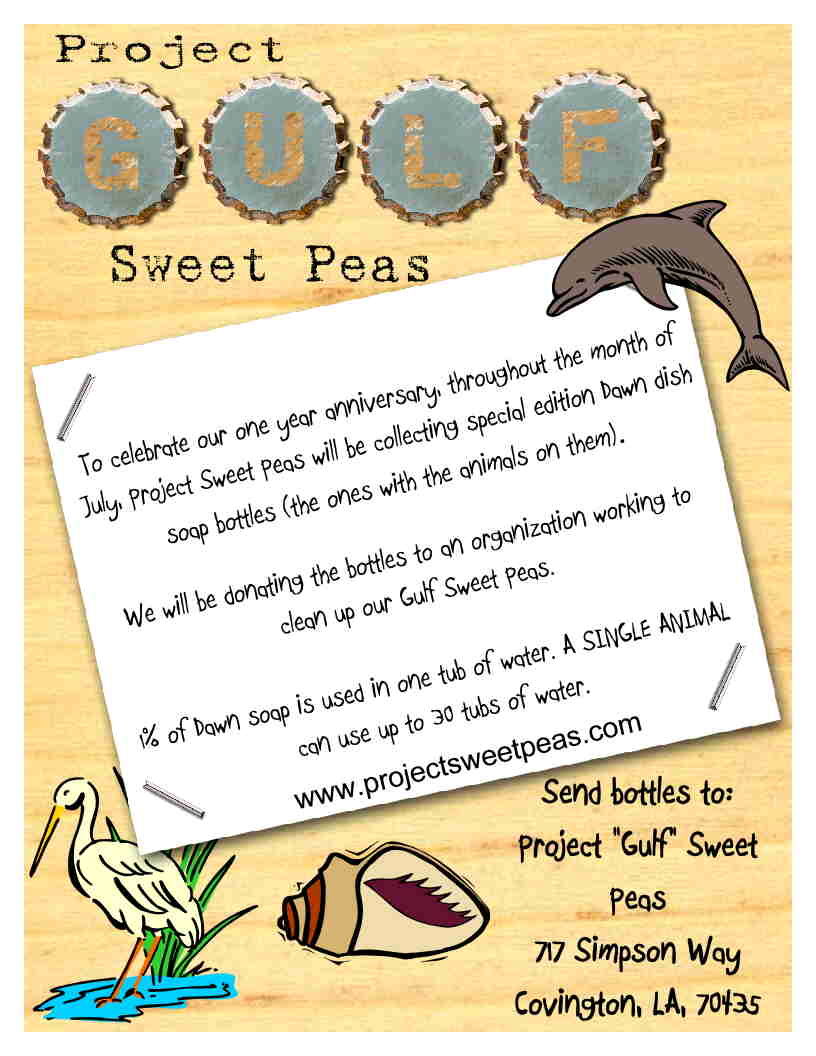 sweet pea project Project sweet peas is a 501(c)3 national non-profit organization coordinated by volunteers, who through personal experience have become passionate about providing support to families of premature or sick infants and to those who have been affected by preg.