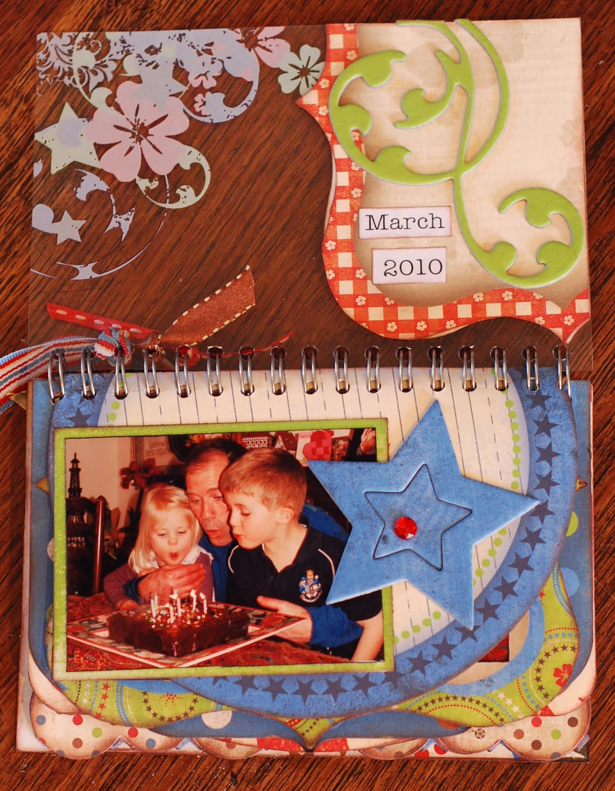 How to put scrapbook back together -  Took Half The Pages Out There Are Doubles And Then Adhered The Remaining Pages Back To Back And Put The Whole Thing Back Together Again