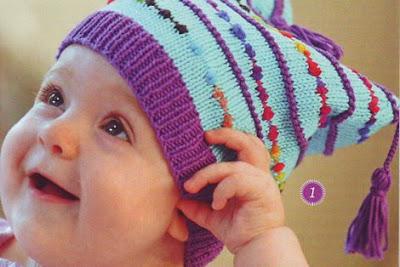 шапочка веселые кисточки
