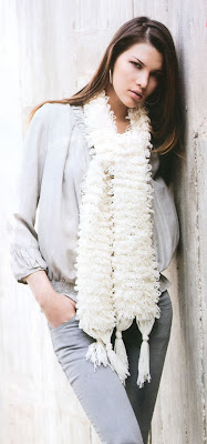меховый шарф