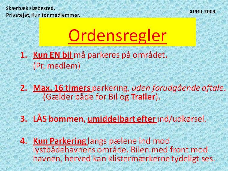 Ordensregler