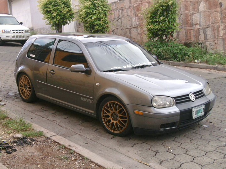 El VW GTI de Fredy Mendoza