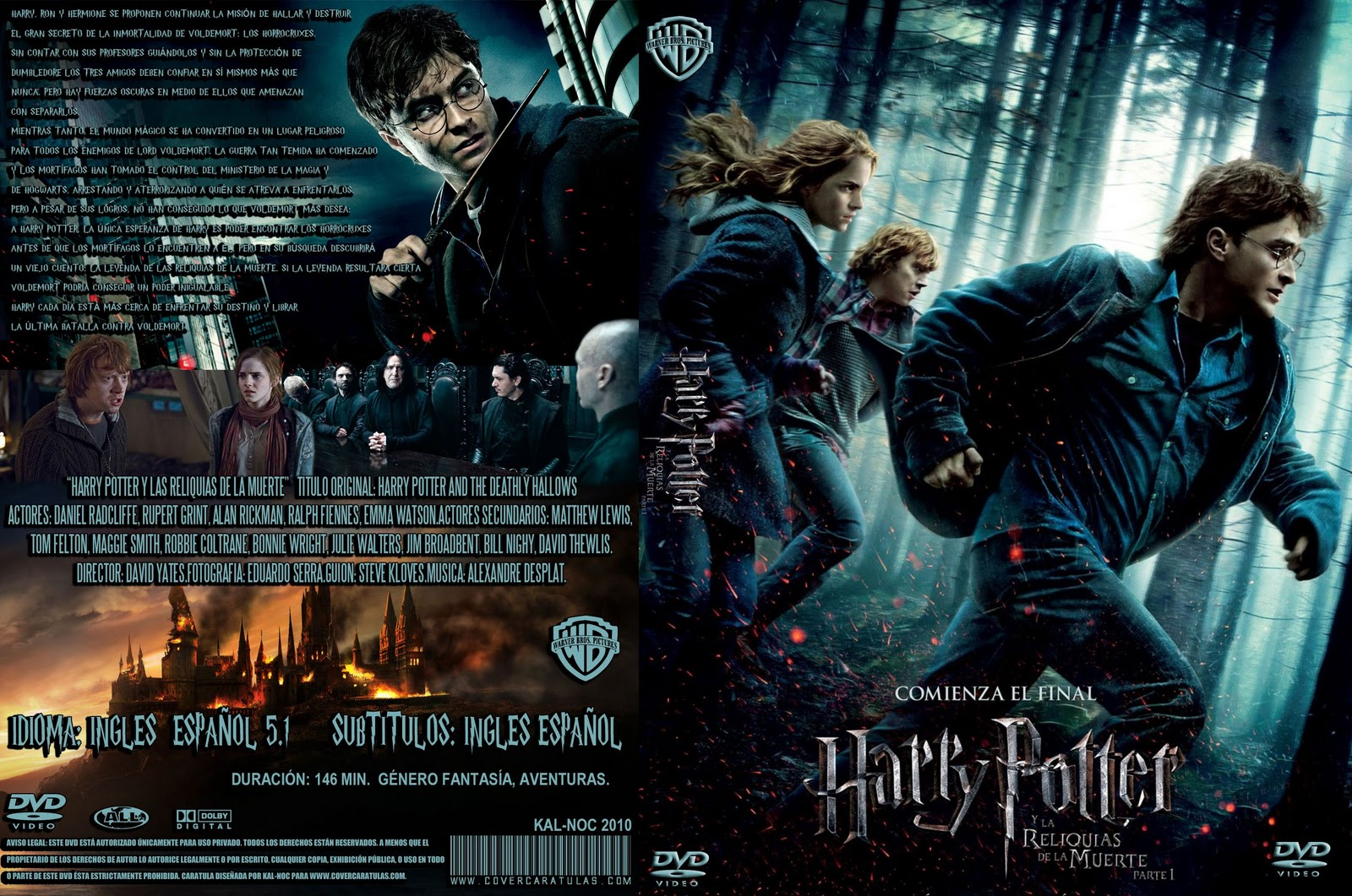 Harry Potter 7 [DVD Custom] [Ing-Esp latino]