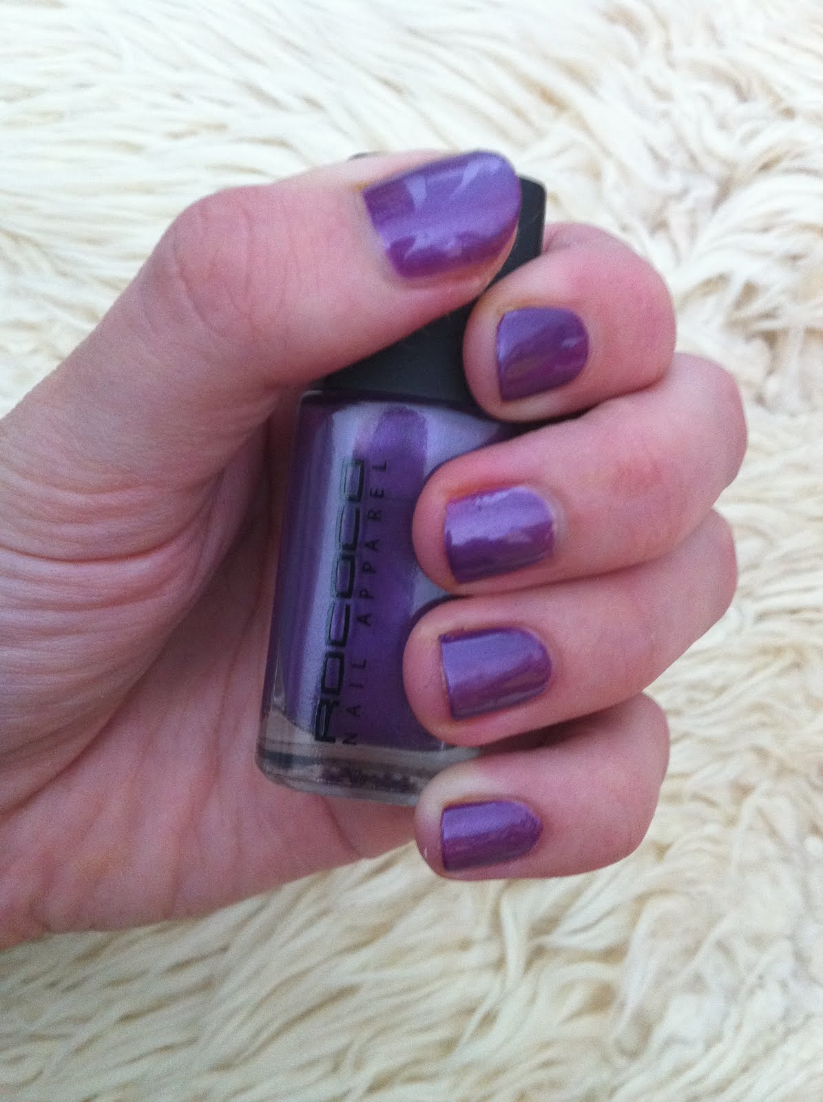 NOTD - Rococo Nail Apparel in Purple Haze | Perfectly Polished