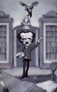 Edgar Allan Poe, visto por Adam Rex
