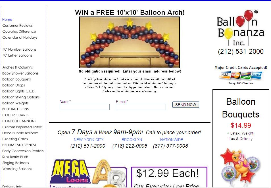 Helium Balloons NYC - (212) 531-2000 FREE DELIVERY! Helium Balloon