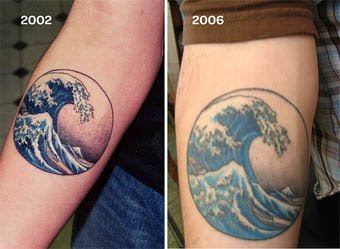 Japanese tattoo art help for Do tattoos on hands fade