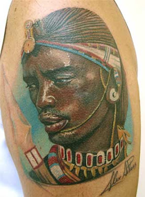 African Tribal Art Tattoos