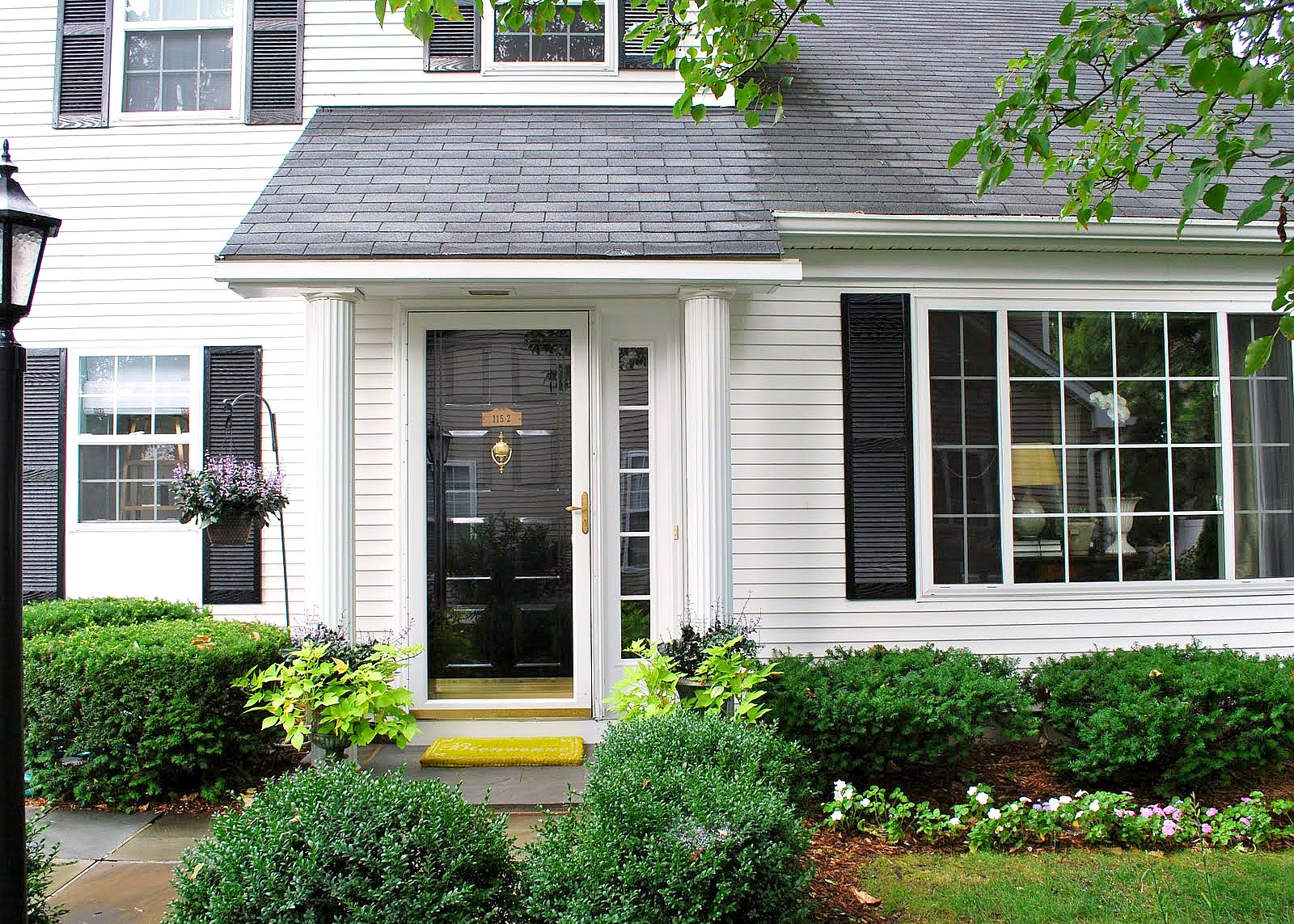 White House With Black Shutters Vivo Home Living