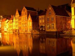Golden Light of Brugges