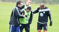 اصابه كريم زيان لاعب الجزائر