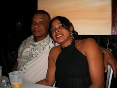 Mi amigo Ruben y su esposa Dulce Maria, en el Coral, celebrando el año nuevo