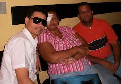 Operación Marisol: Foto luego de la Operación...Camilo, Marisol y Anthony López, Pte. Moprocuma