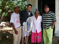 Balbino, Camilo, Doña Dolores y luis Roché