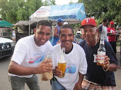 Manzanillo es Unico, Celeto, Francisco y Jimmi Alante.