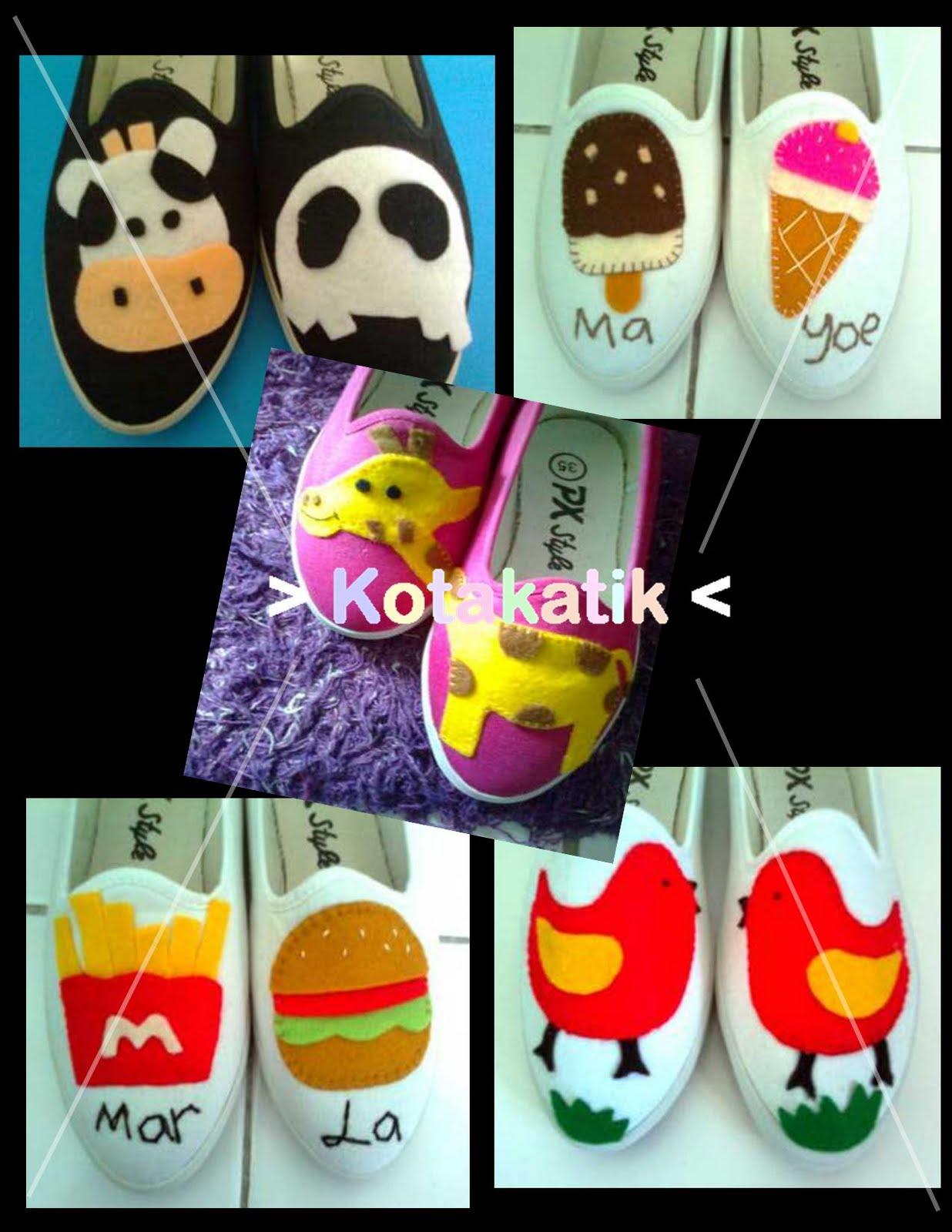 Contohnya usaha memproduksi berbagai model sepatu dalam jumlah banyak ...