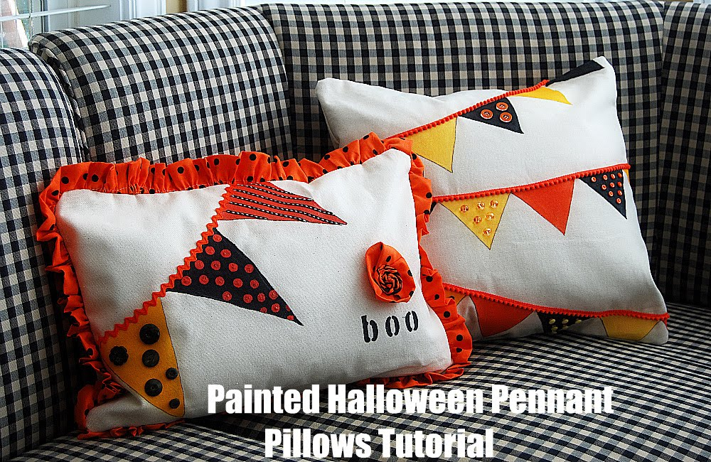 Free Pattern Features: Halloween Pillows