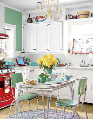 1950s kitchen designs