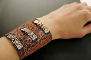 My latest undertaking–woven jewelry!